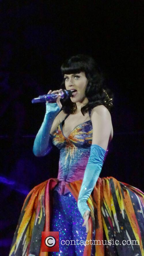 Katy Perry during her 2014 Prismatic Tour