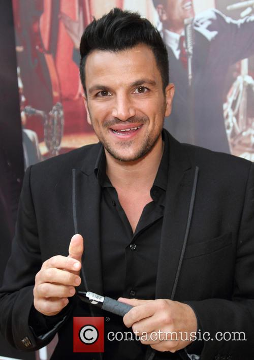 Peter Andre CD Signing