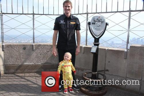 Ryan Hunter-Reay At Empire State Building