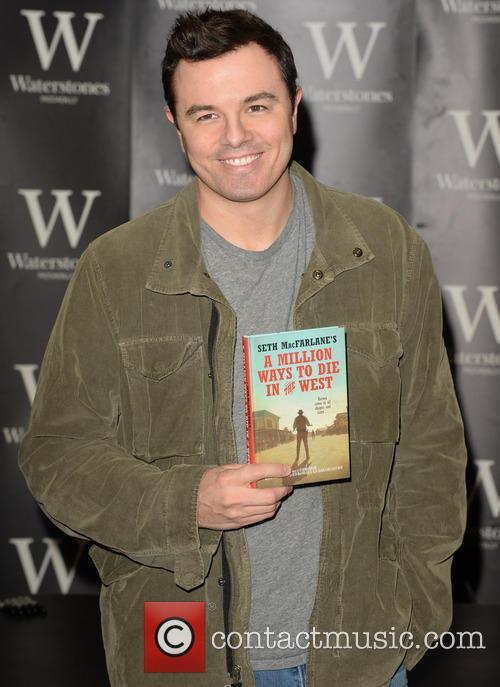 Seth MacFarlane promotes his book 'A Million Ways...