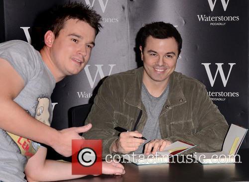 Seth MacFarlane Book Signing