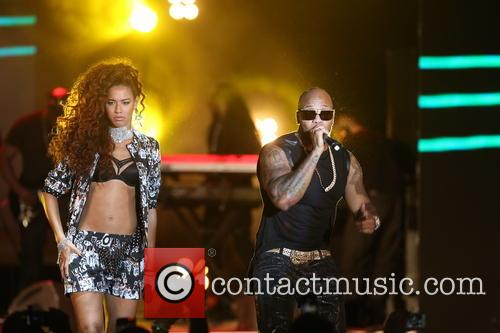 Flo-rida and Natalie De Rose 3