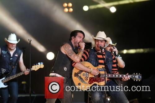 German Band 'boss Hoss' Inclusing Singers Sascha Vollmer (r) And 4