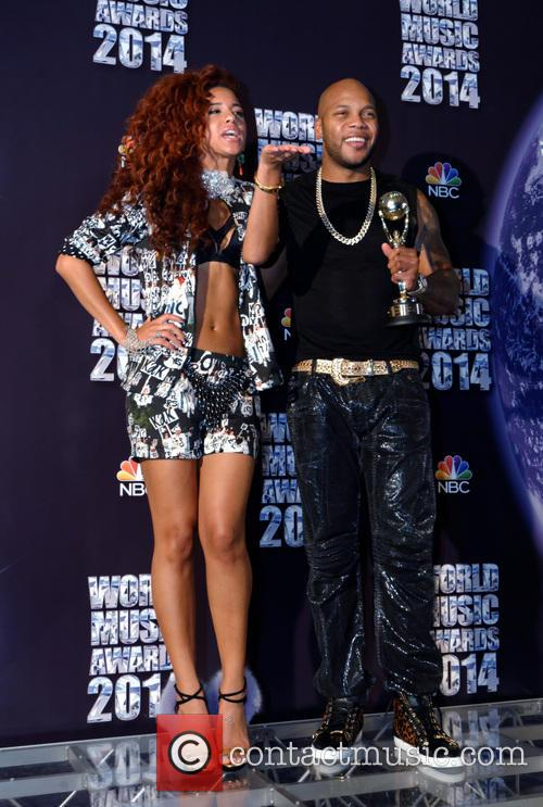 Natalie La Rose and Flo Rida