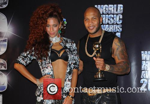 Flo Rida and Natalie La Rose