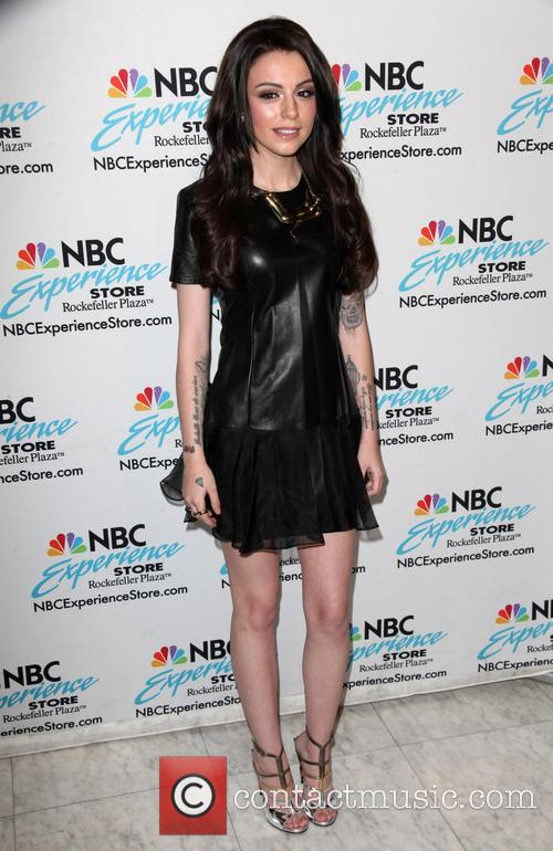 Cher Lloyd appears at the NBC Experience Store