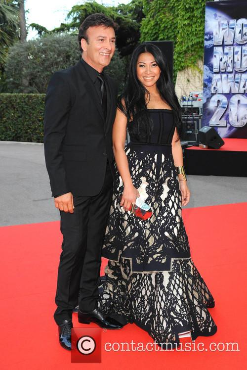 Anggun and Tony Carreira