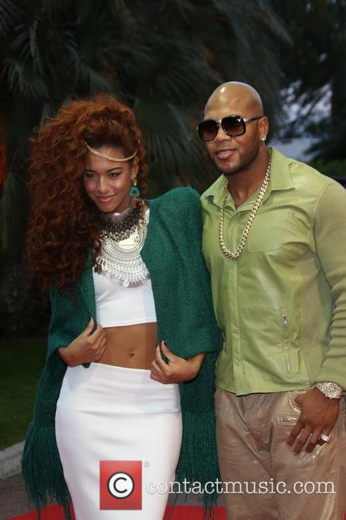 Flo-rida and Natalie De Rose 2