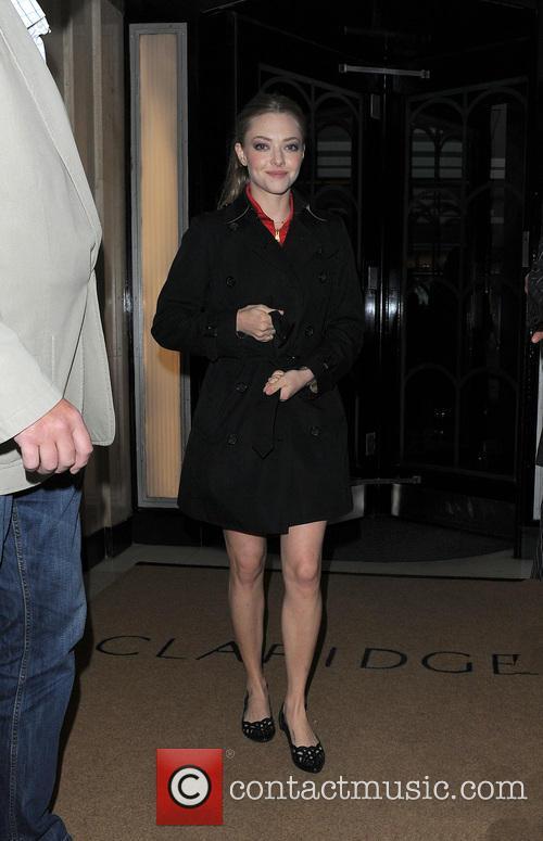 Amanda Seyfried leaving her hotel