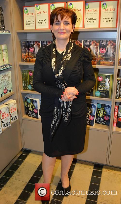 Novelist Kate Kerrigan promotes her new book 'The...
