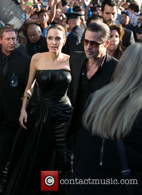 Angelina Jolie, Brad Pitt, El Capitan Theatre, Disney
