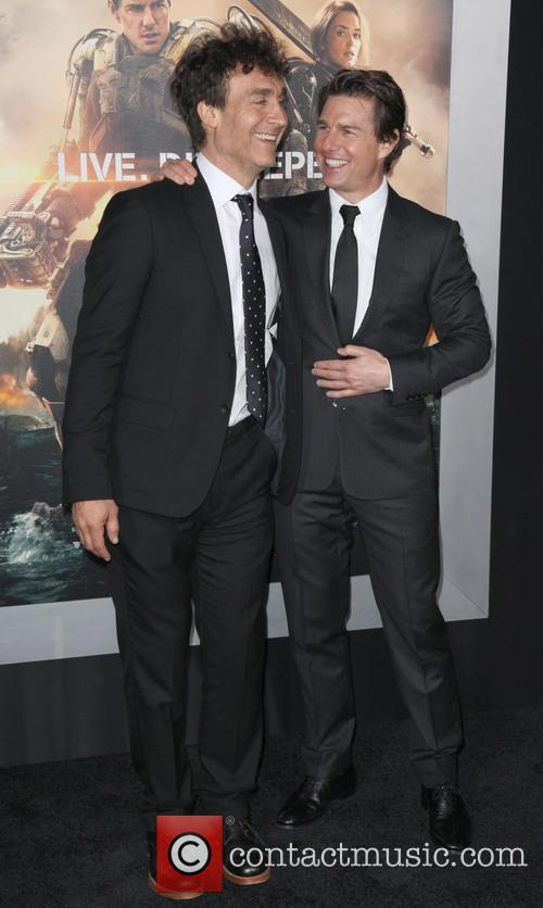 Doug Liman and Tom Cruise 5