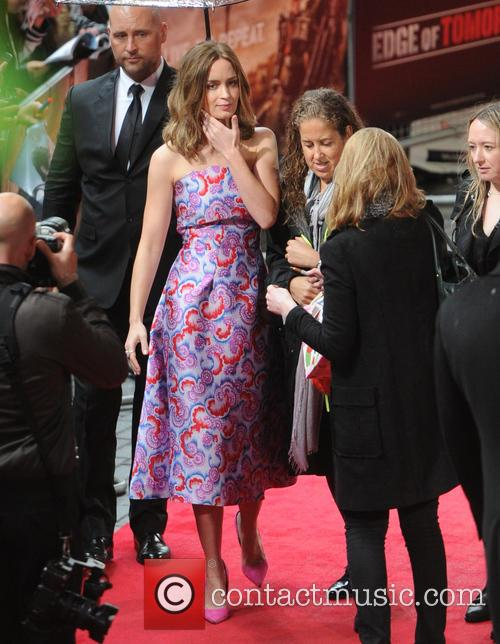 World premiere of 'Edge Of Tomorrow' held at...