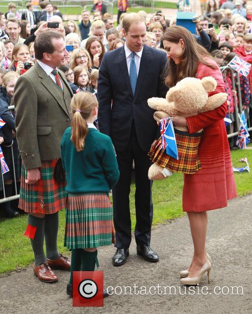 The Duke and Duchess of Cambridge Scotland