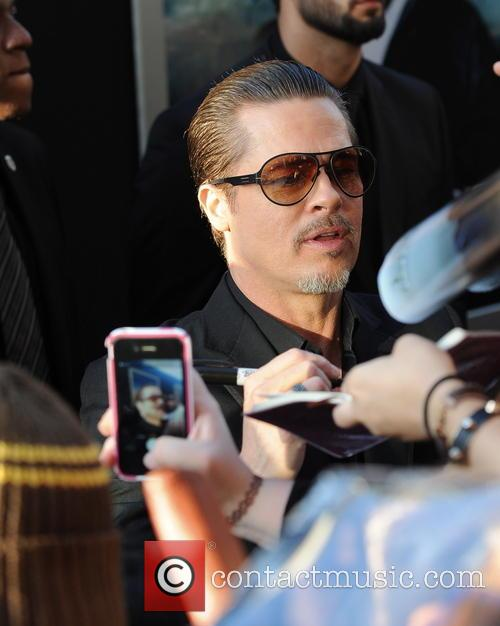 "Brad Pitt attacked at Angelina Jolie's ""Maleficent"" premiere"