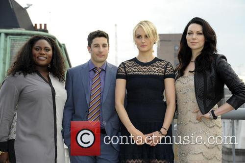 (l To R) Danielle Brooks, Jason Biggs, Taylor Schilling and Laura Prepon 2