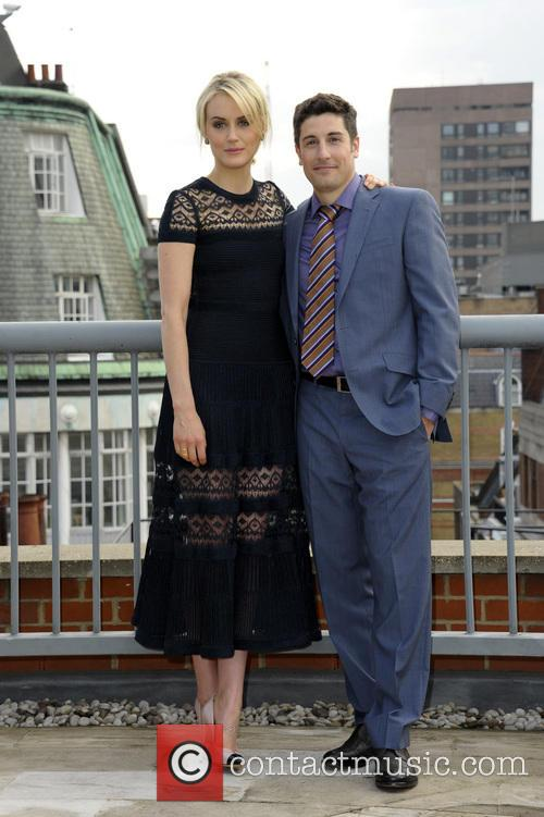 Taylor Schilling and Jason Biggs 2