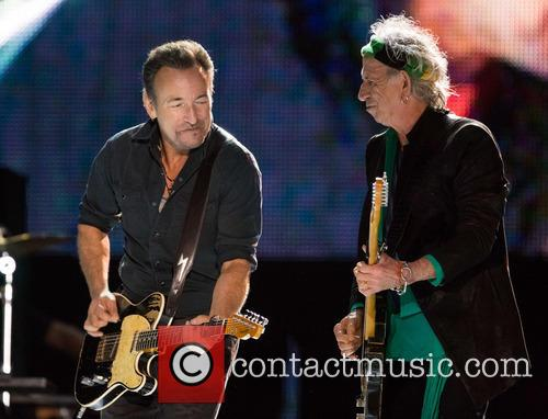 The Rolling Stones, Keith Richards and Bruce Springsteen