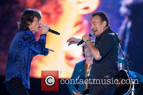 The Rolling Stones, Mick Jagger and Bruce Springsteen 4