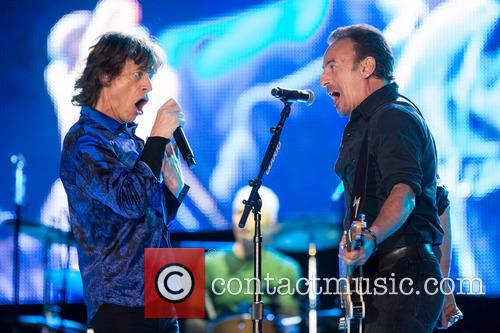 The Rolling Stones, Mick Jagger and Bruce Springsteen 1