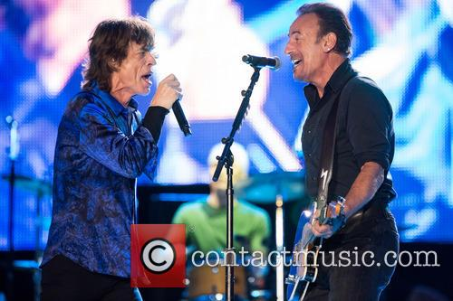 The Rolling Stones, Mick Jagger and Bruce Springsteen 6
