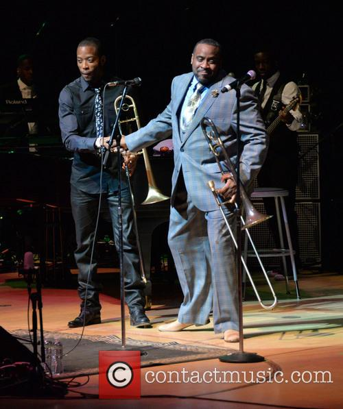 Trombone Shorty and Jeff Bradshaw 2