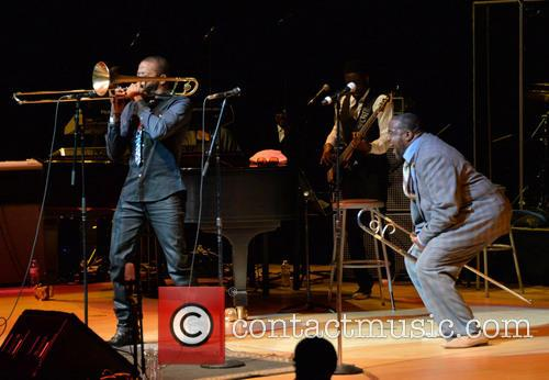 Trombone Shorty and Jeff Bradshaw 3