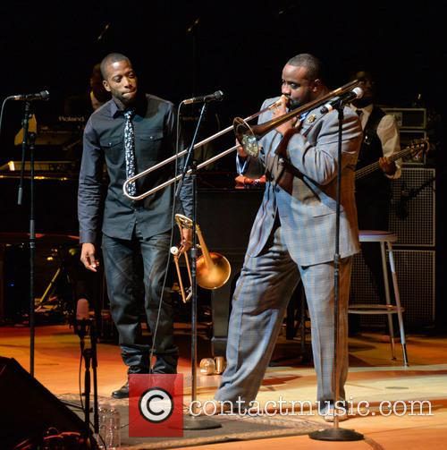 Trombone Shorty and Jeff Bradshaw 1