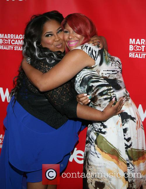 Tanisha and Traci Braxton 2