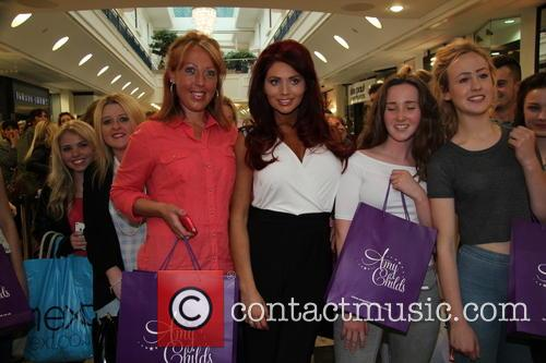 Amy Childs, fans, Meadowhall