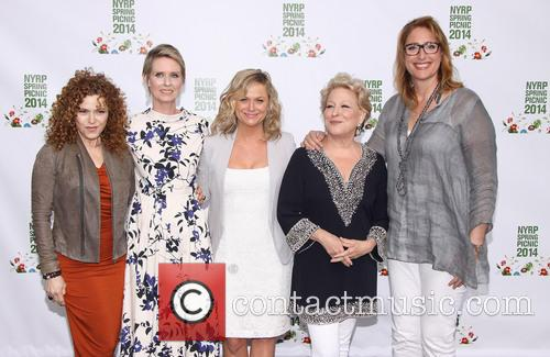 Bernadette Peters, Cynthia Nixon, Amy Poehler, Bette Midler and Judy Gold 1