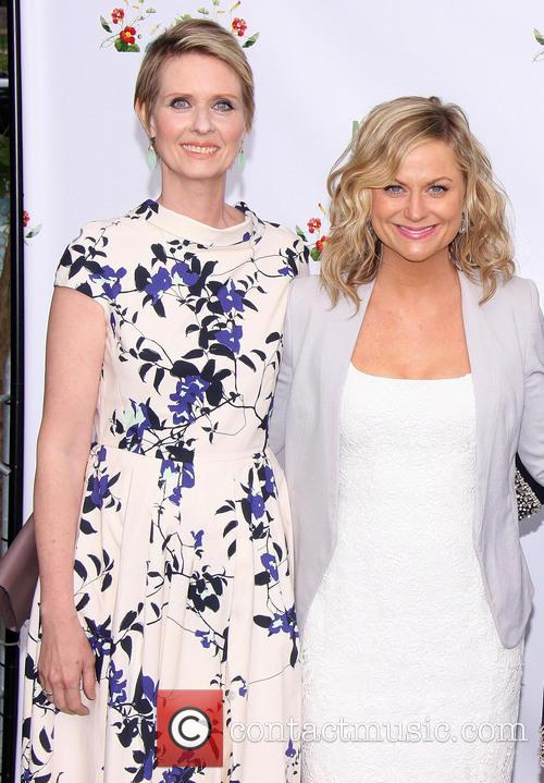 Cynthia Nixon and Amy Poehler 2