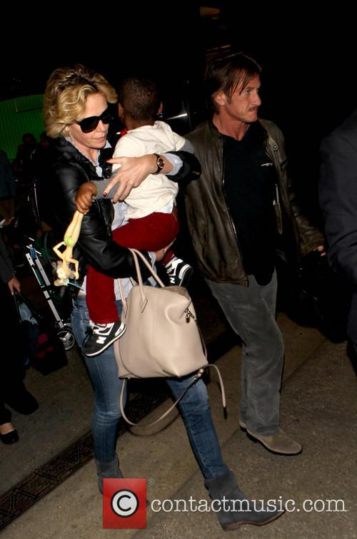 Charlize Theron, Sean Penn and Jackson 2