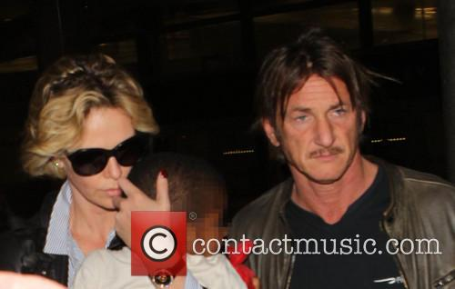 Charlize Theron, Sean Penn and Jackson 3