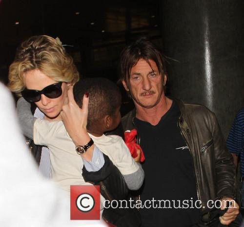 Charlize Theron, Sean Penn and Jackson 4