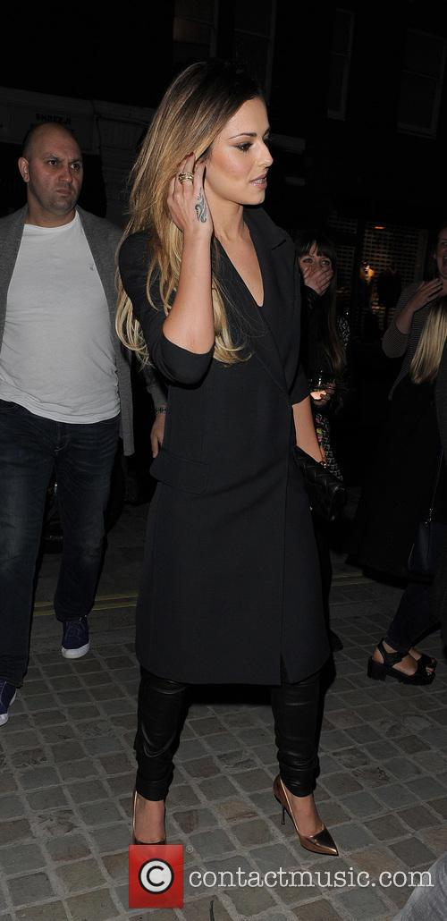 cheryl cole celebrities at chiltern firehouse 4221386