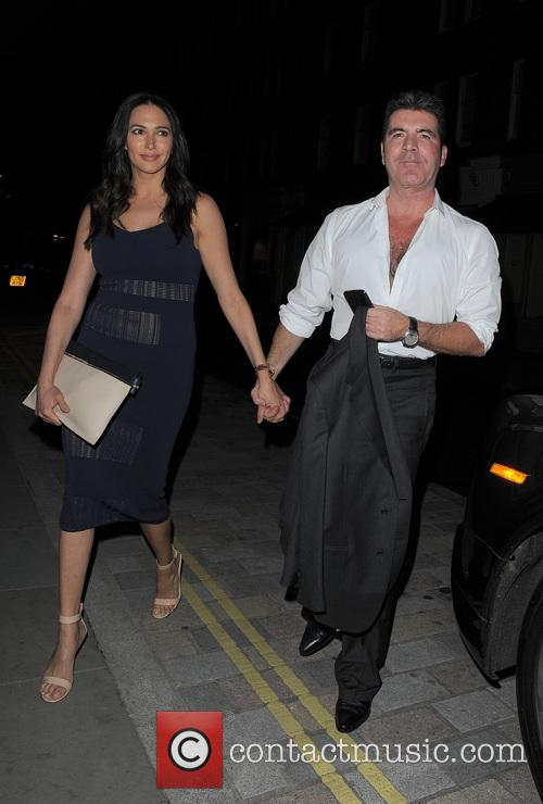 Simon Cowell and Lauren Silverman 10