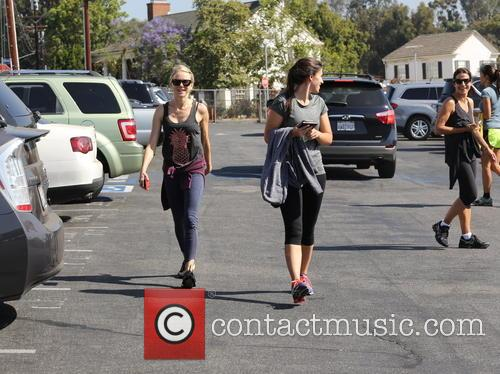 Naomi Watts and friends seen leaving spinning class