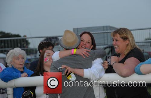 Matt Cardle and Fan Club 7