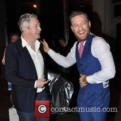 Louis Walsh and Conor Mcgregor