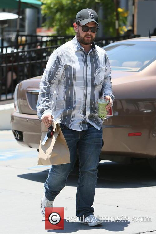 Jack Osbourne spotted picking up food from Urth...