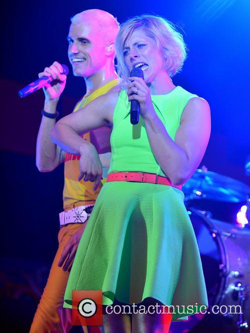 Neon Trees, Tyler Glenn and Elaine Bradley 8