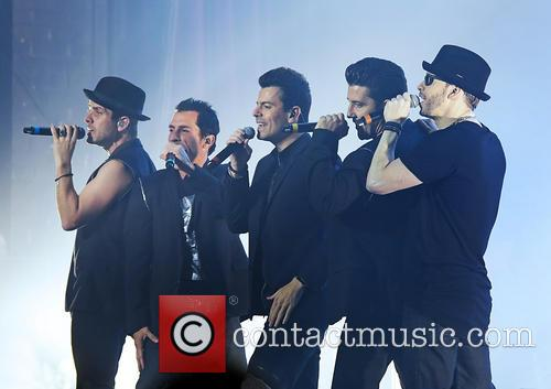 New Kids On The Block perform live