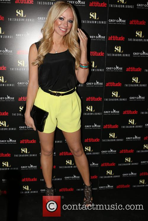 liz mcclarnon celebrities attend the relaunch of 4221726