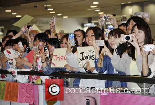 The Vamps arrive in Tokyo