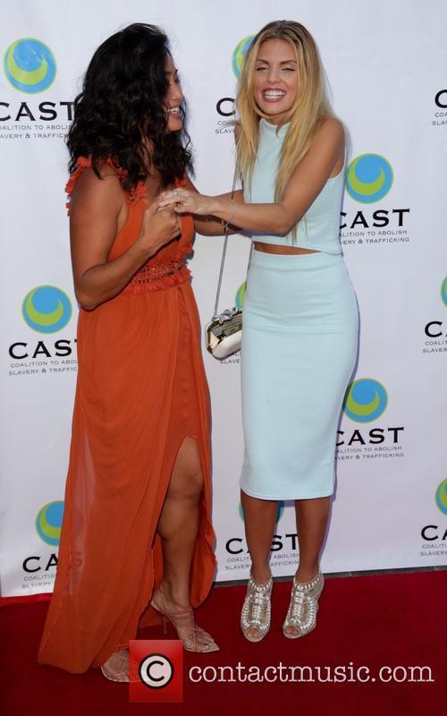 Chloe Flower and Annalynne Mccord 8