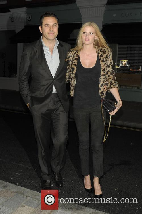 David Walliams and Lara Stone 7