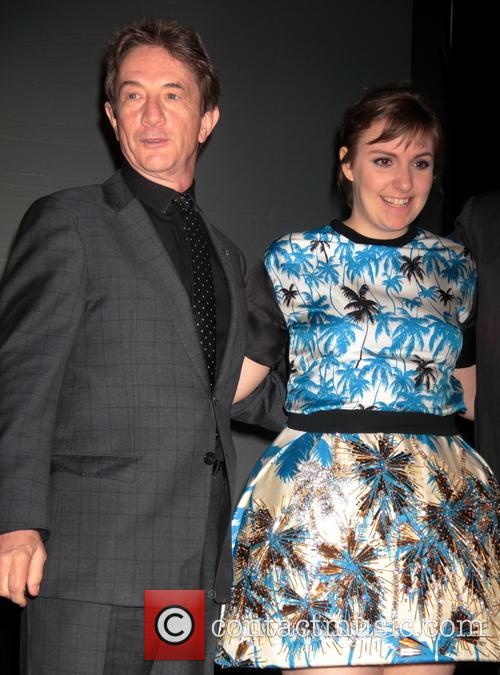 Lena Dunham and Martin Short 8