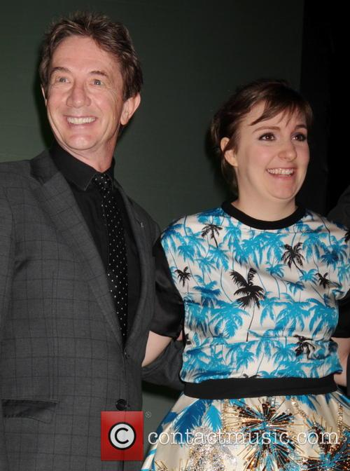 Lena Dunham and Martin Short 11