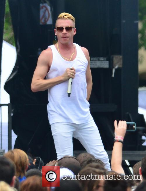 Macklemore and Ryan Lewis performing live